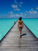 Maldives indian ocean beachbabe
