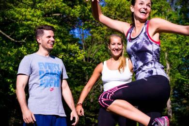 jump girl fitness