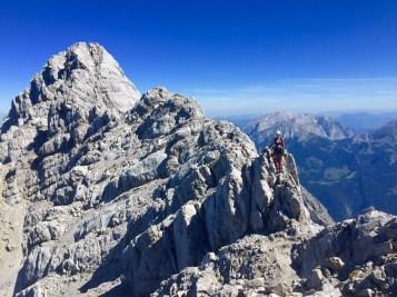 Watzmann crest mountain