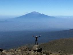 Kilimanjaro Meru view