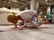 Krähe Asana Yoga