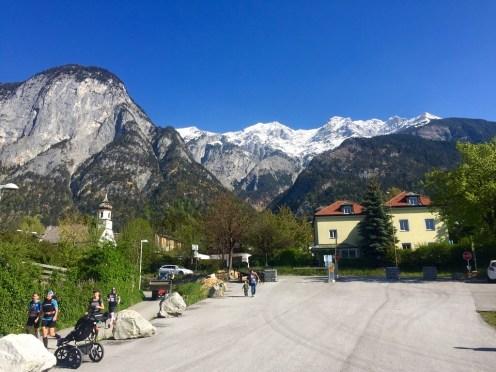 Inntal View mountains Innsbruck