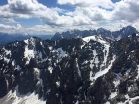 Pinnacles rock Alps