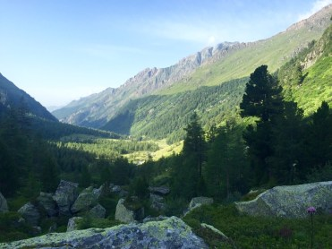 Dorfertal view mountains