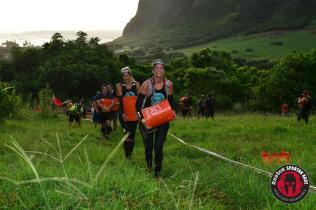 Uphill bucket carry