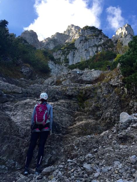 Hochstaufen Berchtesgadener ALpen Ferrata