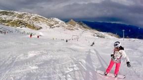 Piste Kitzsteinhorn Snowboard