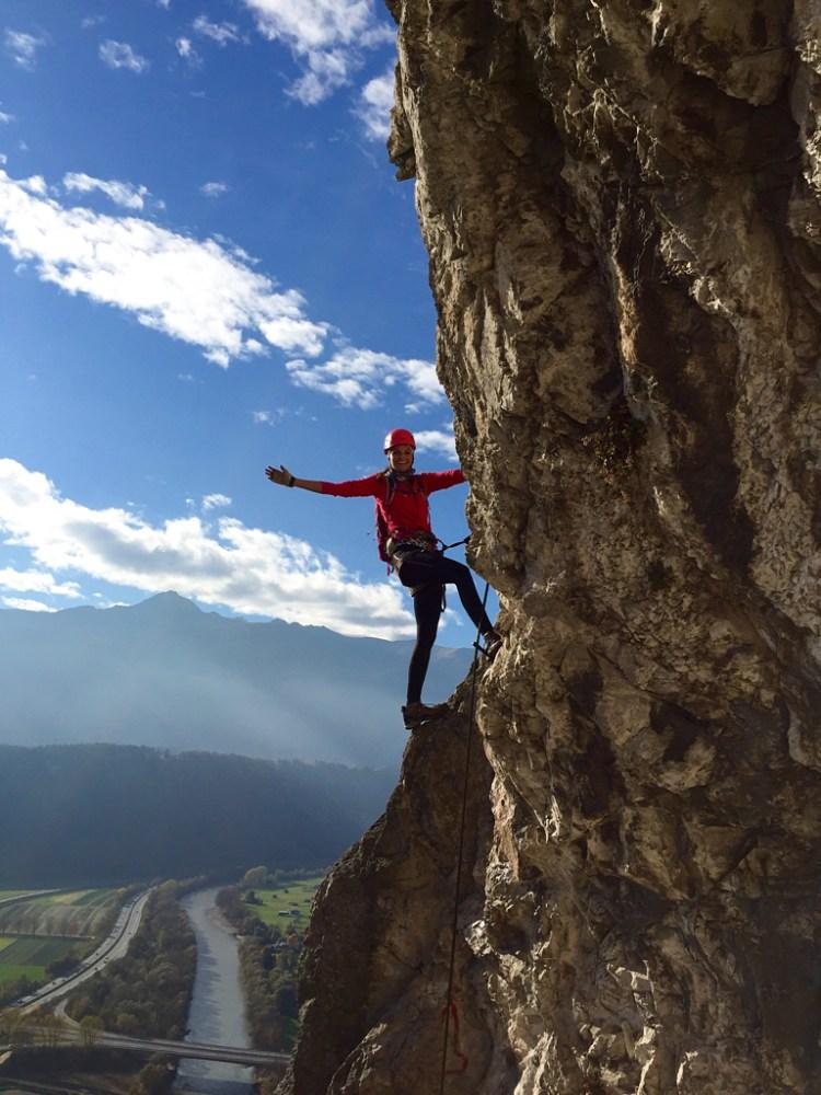 Klettern Martinswand Zirl
