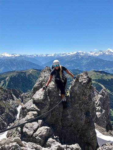 Porti Sport Diretissima Königsjodler Climb