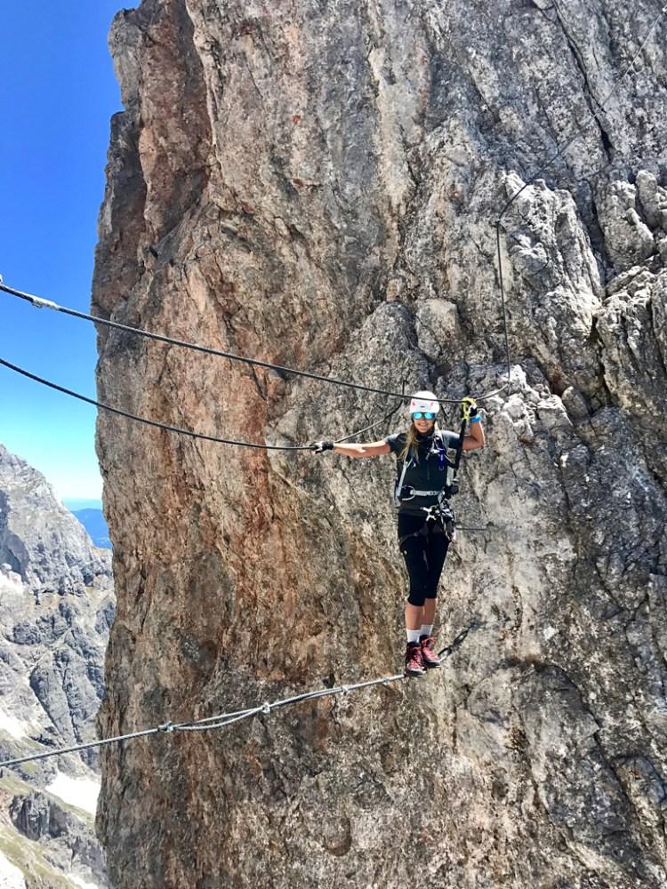 Seilbrücke rope bridge Königsjodler
