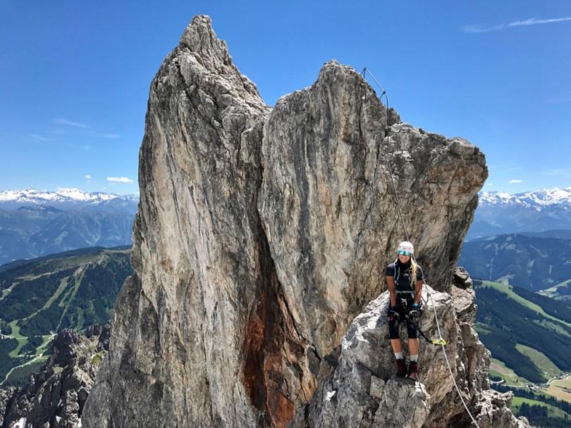 Königsjodler Klettersteig Aussicht