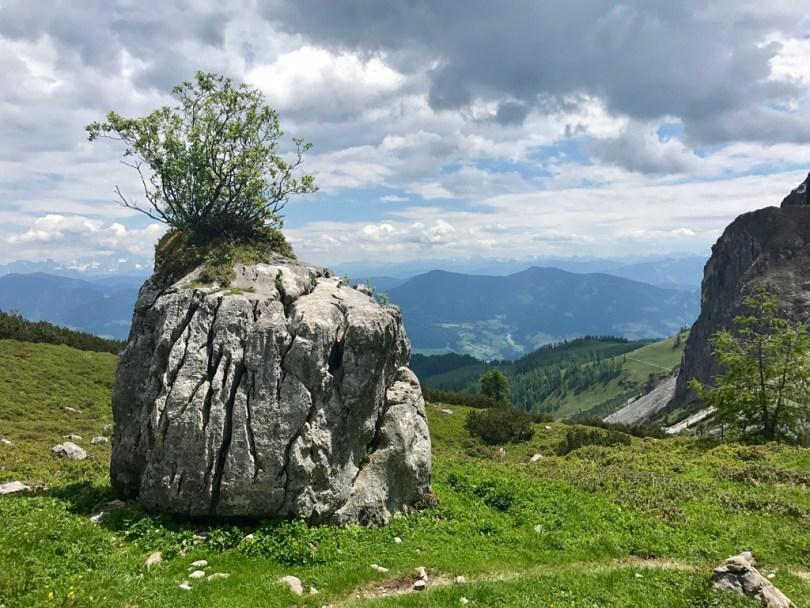 Arthurhaus descent Hochkönig