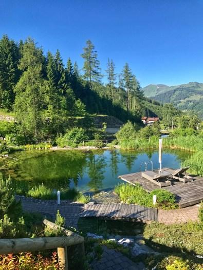 Übergossene Alm pond Teich