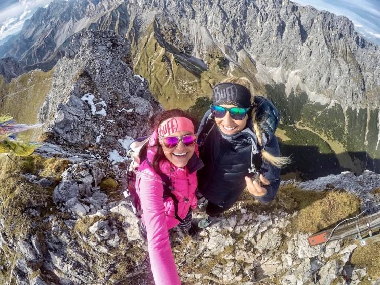 Summit Gehenspitze Wetterstein
