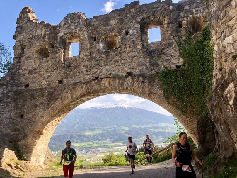 Ruins Innsbruck heart Alps