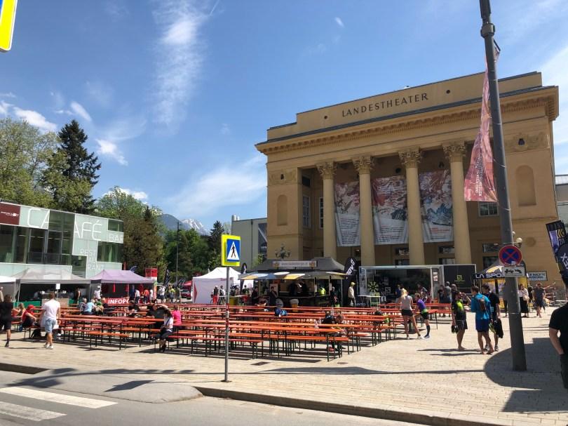 Innsbruck Landestheatervorplatz Trail city