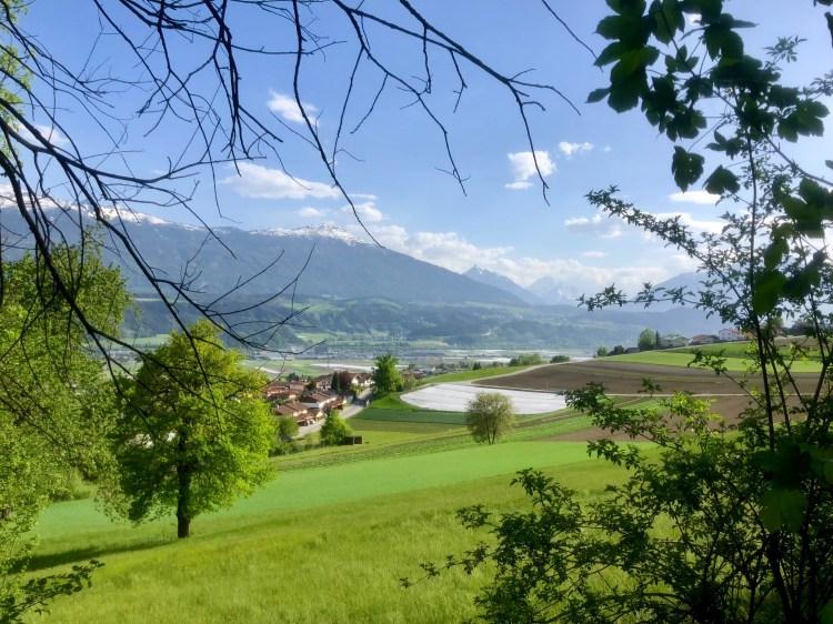 Rechenhof Innsbruck Blick