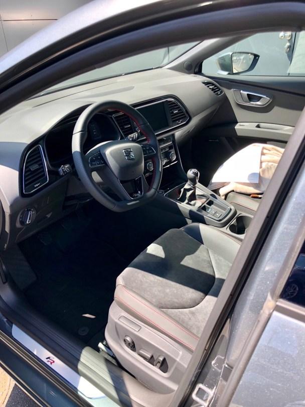 Seat Leon DSG interior