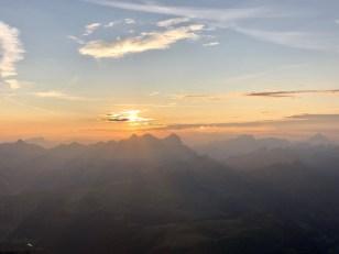 sunset view Drei zinnen