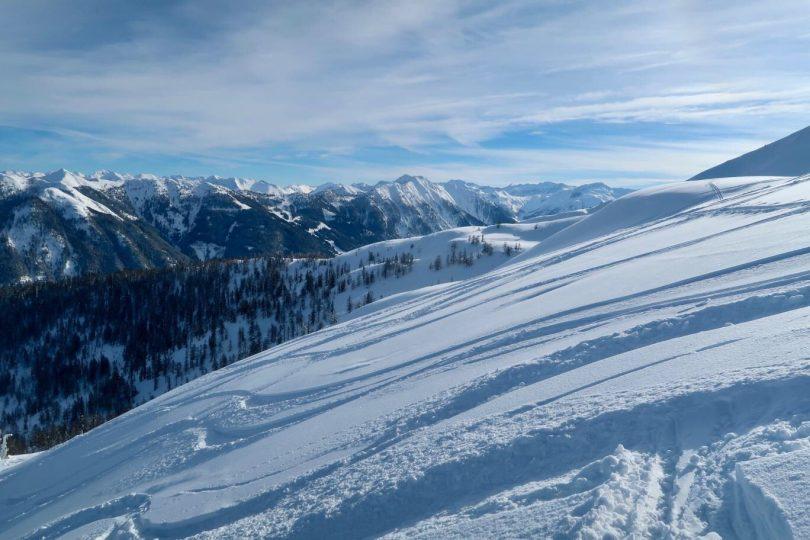 Panorama Flachau Berge