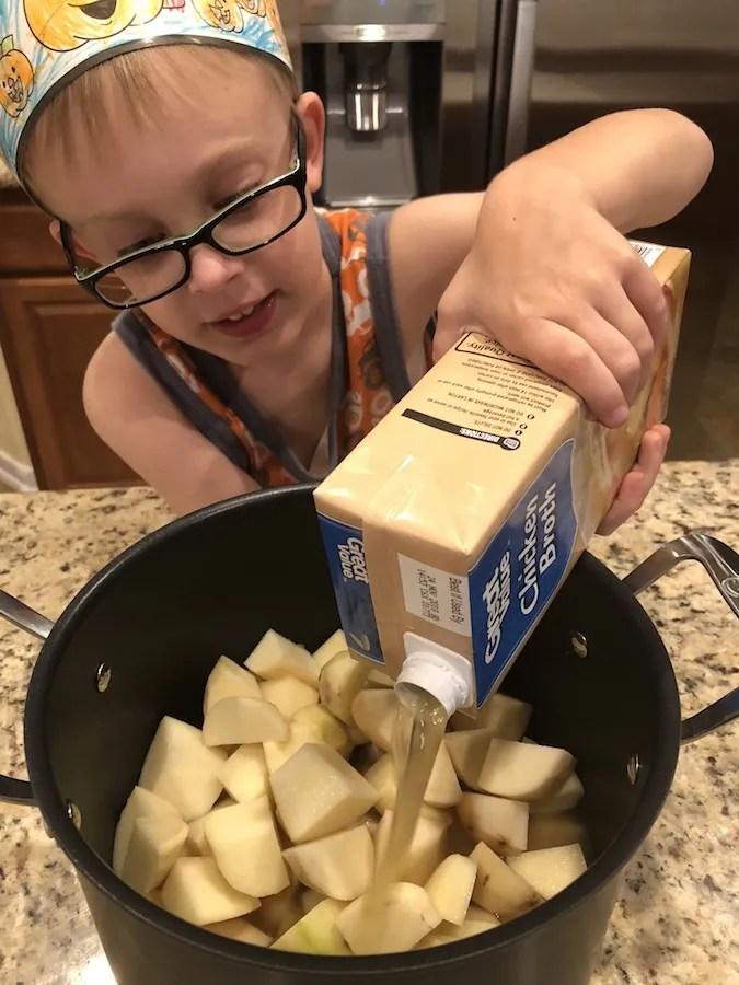One-Pot Potato and Cream Cheese Soup Recipe