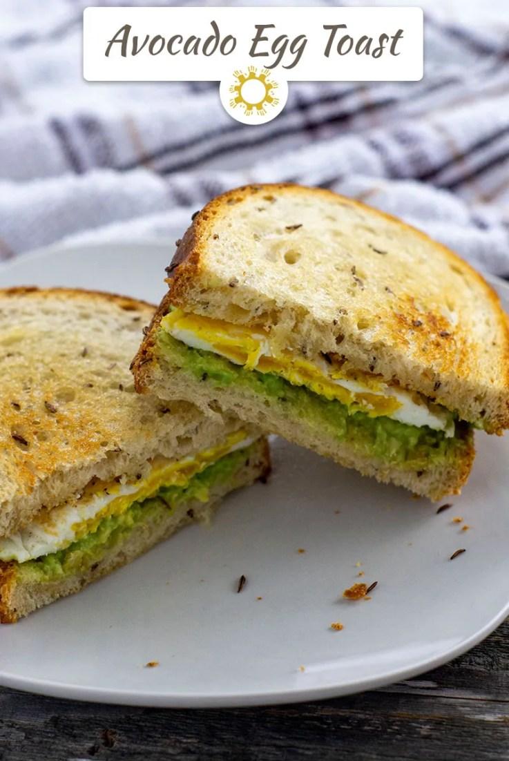 Avocado Egg Toast: A Twist on the Millennial's Stereotype Breakfast