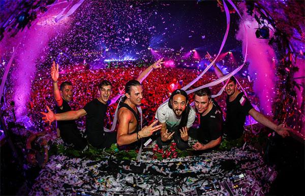 W&W with Dimitri Vegas & Like Mike with Steve Aoki with Martin Garrix
