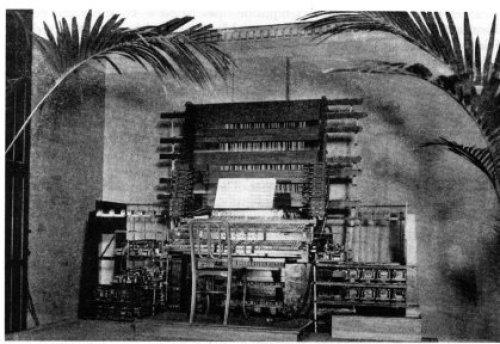 Il primo Teleharmonium nel 1897
