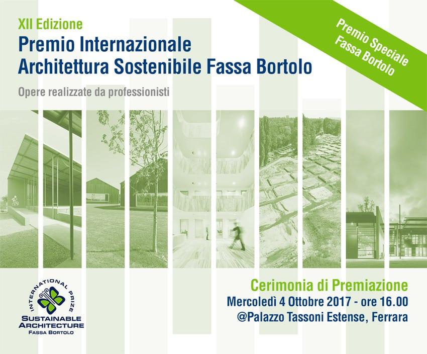 La locandina del premio Fassa Bortolo