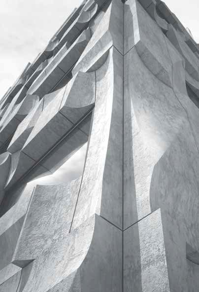 Edificio Misfit a Toronto in cemento prefabbricato