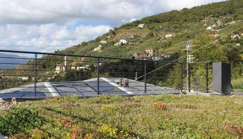 Bioedilizia con copertura fotovoltaica