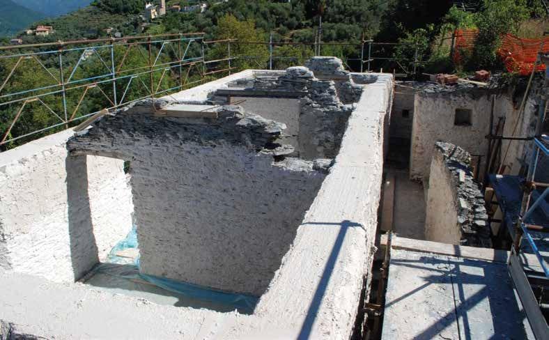 Rinforzare muri di pietra