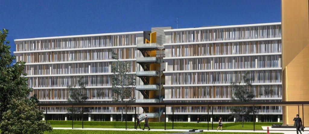 Rendering edificio in Viale Fulvio Testi 280 a Milano