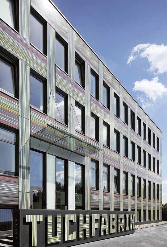 Tuchfabrik pannelli facciata