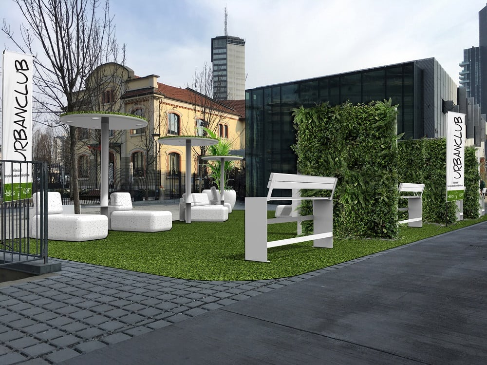 Isola design district urban club