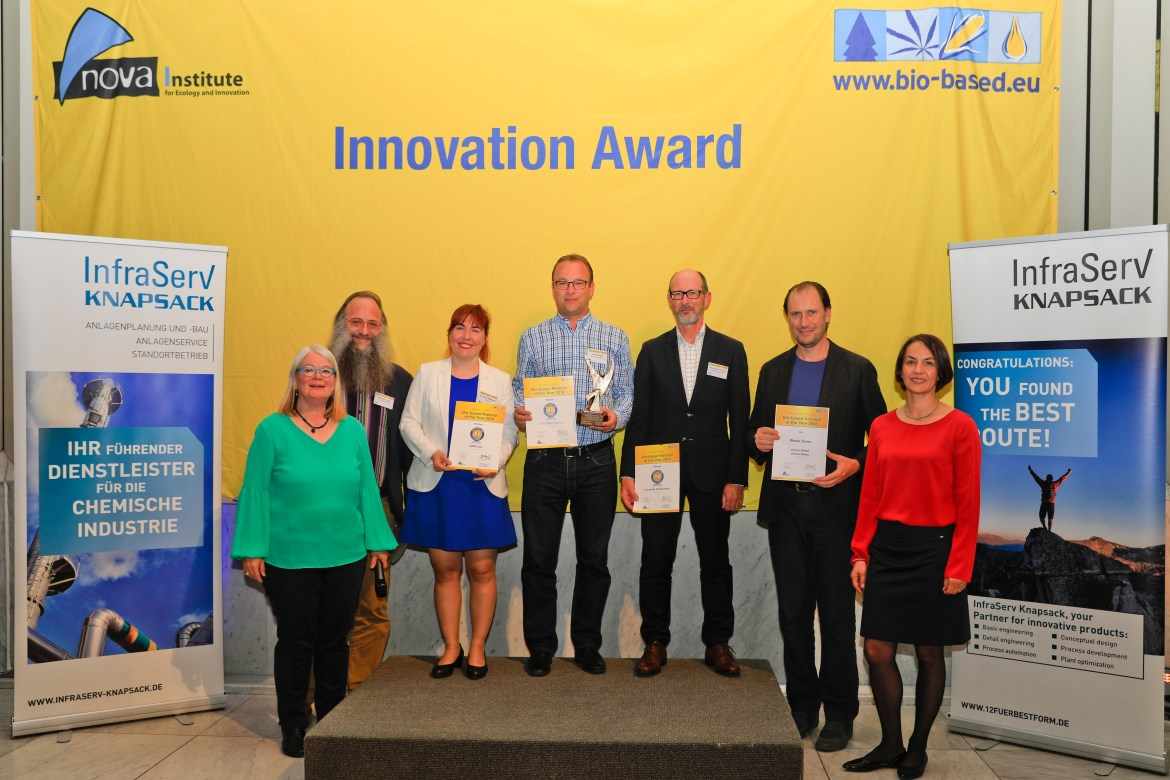 Innovation Award Bio-based Material of the Year 2018