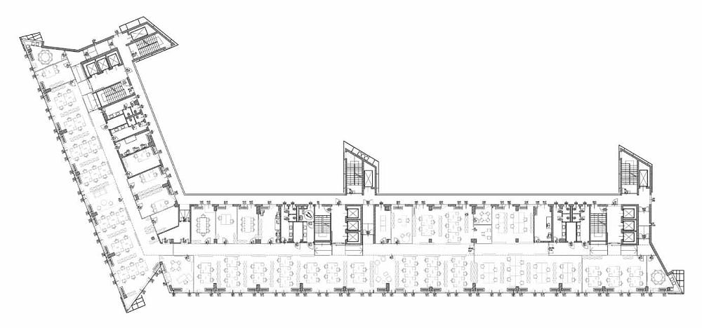 campus milano pianta uffici