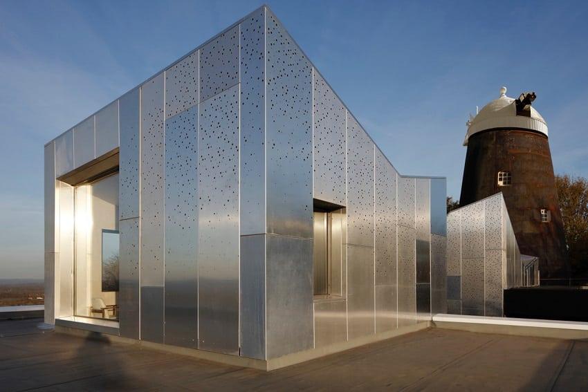 restauro mulino inglese nuovi volumi alluminio