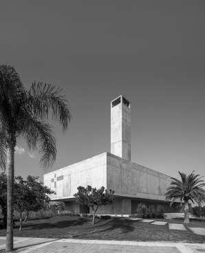 La chiesa a Playa Granada