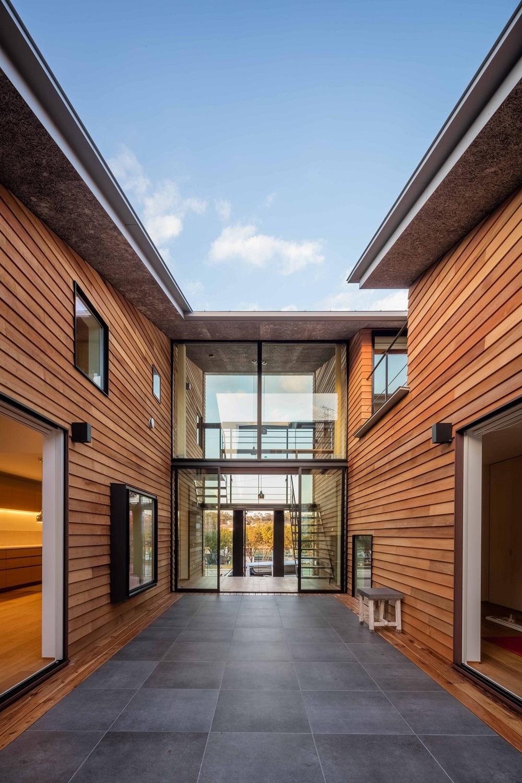 architettura giappone ingresso e patio