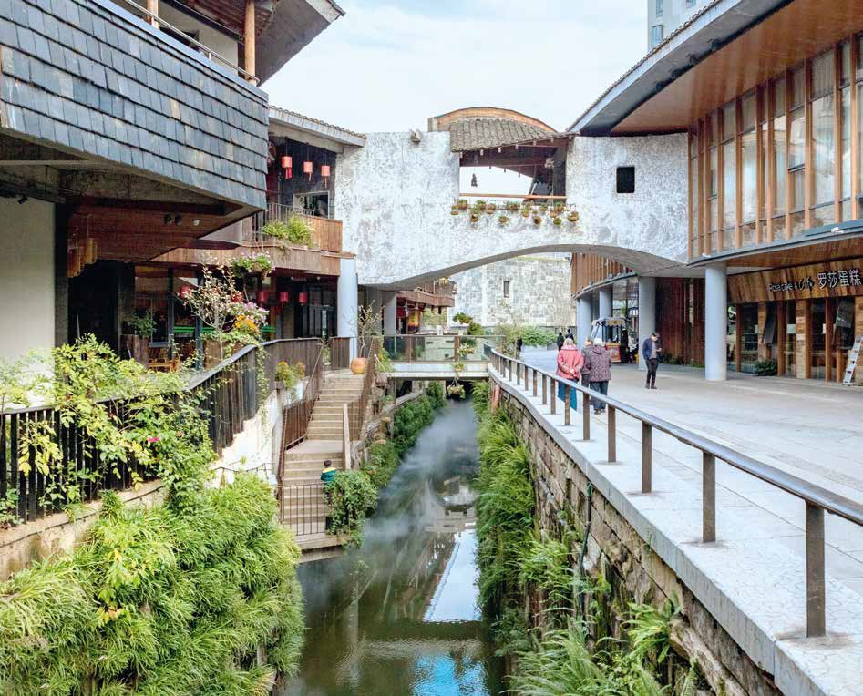 architettura cinese canale