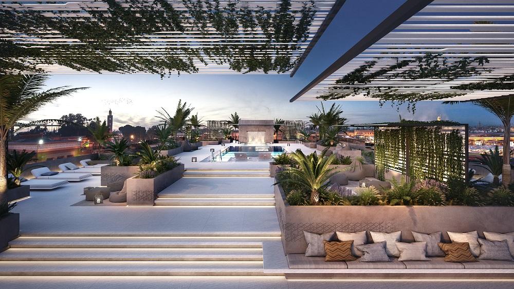 cr7 hotel piscina
