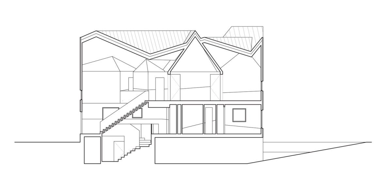 sezione casa atlanta