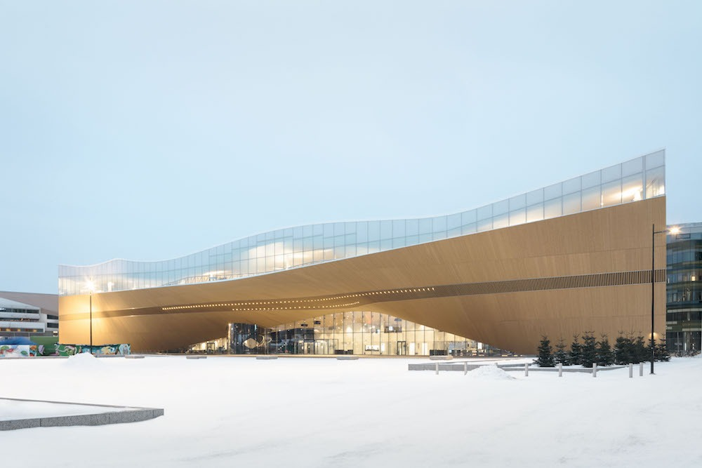 ALA Architects Helsinki Central Library legno