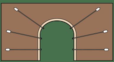 Applicazione per sottopassi, gallerie e tunnel