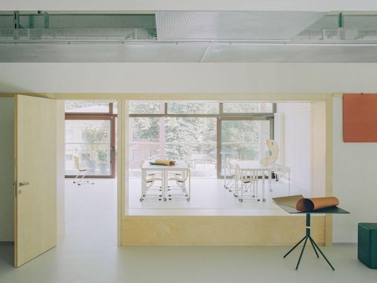 Vista aula. © Simone Bossi