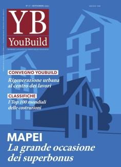 Copertina rivista architettura YouBuild