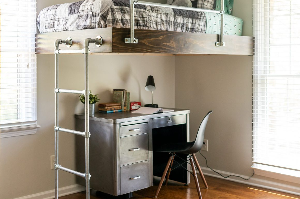 DIY Loft Bed for Boys Room  Strong and SimpletoBuild