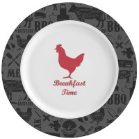 Barbeque Ceramic Dinner Plates (Set of 4) (Personalized ...