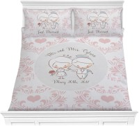Wedding People Comforter Set (Personalized) - YouCustomizeIt